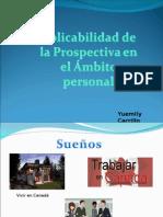 aplicabilidad de la prospectiva en el ambito personal.ppt