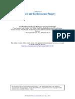 Cardiopulmonary bypass Evidence or experience based.pdf