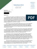 Senator Vitter Letter to SVC re