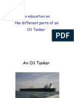 Parts of a Oil Tanker