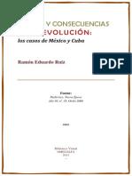 Causas y Consecuencias de La Revolucion Los Casos de Mexico y Cuba (2)