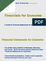Financials for Dummies