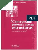 Conversión Pastoral y nuevas estructuras