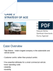 CASE 3 - strategy of ace