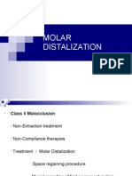 Molar Distalization