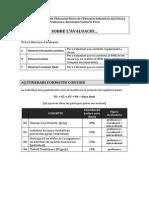 Avaluació DEFEI Q 14 15