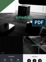 schedue - pretty documentation