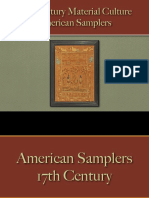 Decorative Arts - American Samplers