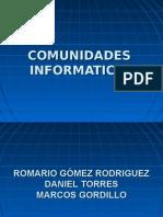 COMUNIDADES INFORMATICAS