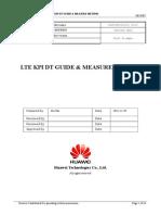 LTE KPI DT GUIDE & MEASURE METHOD..doc
