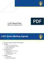 Leeds United Full Board Meeting Back