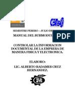 Unidad i Controlar La Informacion Documental de La Empresa.