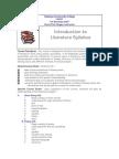 Introduction to Literature Syllabus.pdf
