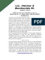 27 Denuncia a Fiscal General Agosto 4 20061