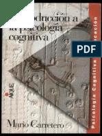 PCG 001 Introduccion a La Psicologia Cognitiva - Carretero Mario