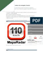 Atualizar Os Radares Do Navegador Garmin