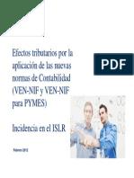 16 02 12 Impacto Fiscal VEN-NIIF Jornadas Tributarias 2012 (R Pire)