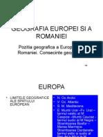 1 Geografia Europei Si a Romaniei (1)