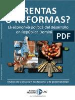 Rentas o Reformas? La economía política del desarrollo en República Dominicana