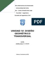 Diseño Geométrico Transversal