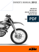 2012 KTM 450 EXC
