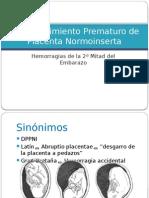 Desprendimiento de Placenta.pptx