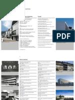 Werkverzeichnis Rigert Bisang Architekten