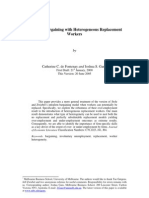 Involuntary Unemployment and Intrafirm Bargaining 2005