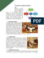 Diciplinas de Las Ciencias Sociales