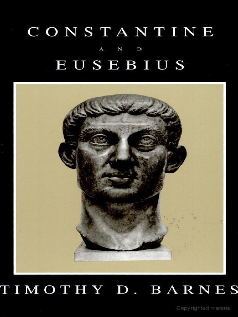 Barnes Constantine and Eusebius