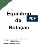Equilíbrio de Rotação 08-04