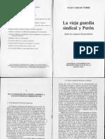 La Vieja Guardia Sindical y Peron. Sobre Los Orígenes Del Peronismo - Juan Carlos Torre - Pág. 148 a 186-1