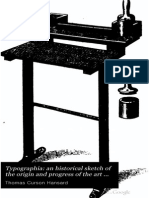 Typographia an Historical Sketch of The