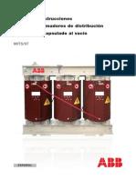 Manual de Instrucciones transformador seco ABB