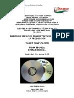 Análisis de Objeto Técnico El Disco Compacto (Compact Disk)