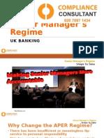 Senior Manager's Regime - Next Steps