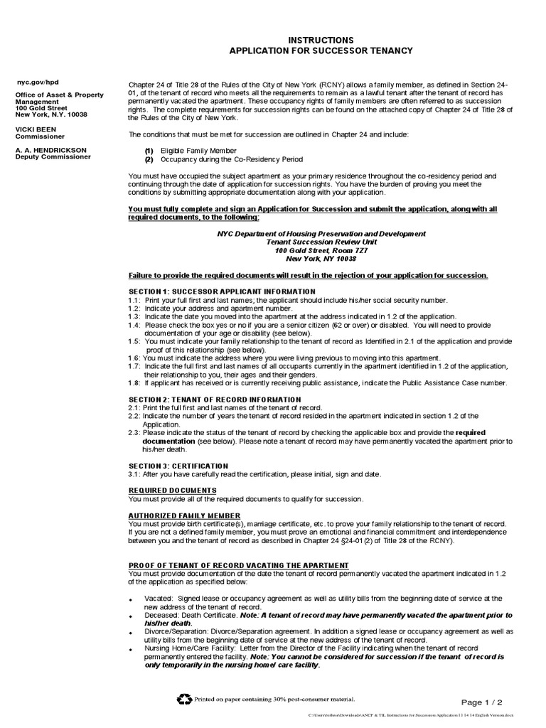 Ancp til instructions for succession application identity ancp til instructions for succession application identity document government information 1betcityfo Image collections