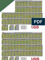 USO - Propuesta de Cuadrante 6º Turno