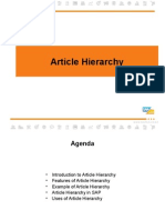 Article Hierarchy