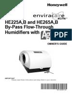Honeywell He225 Manual