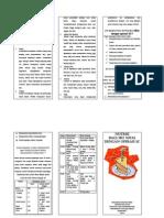 Leaflet Nutrisi Bagi Ibu Nifas Dgn Operasi SC