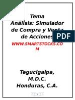 Pauta Smartstocks - Simulador de La Compra y Venta de Acciones