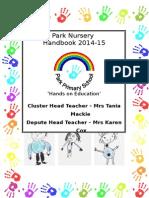Nursery Prospectus 2014 14