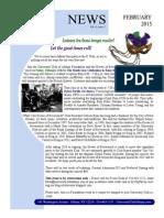 February 2015 UC Newsletter