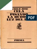 Cela, Camilo José - Pisando la dudosa luz del día (Lumen, 1986)
