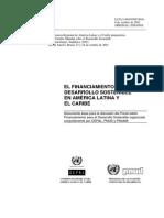 01- BARCENA & de MIGUEL - LIBRO - El Financiamiento Para El Desarrollo Sostenible en America Latina y El Caribe