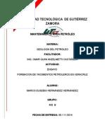Ensayo Yacimientos Petroleros en Veracruz