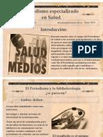 Periodismo en Salud