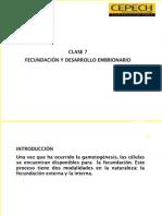 6. Fecundación y Desarrollo Embrionario