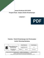 Dokumen Kurikulum TA 2013-2018